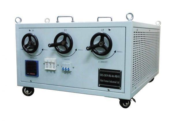 3-Phase Power Rheostat Load Bank DSR3-20kW4RK40A-WB-V1