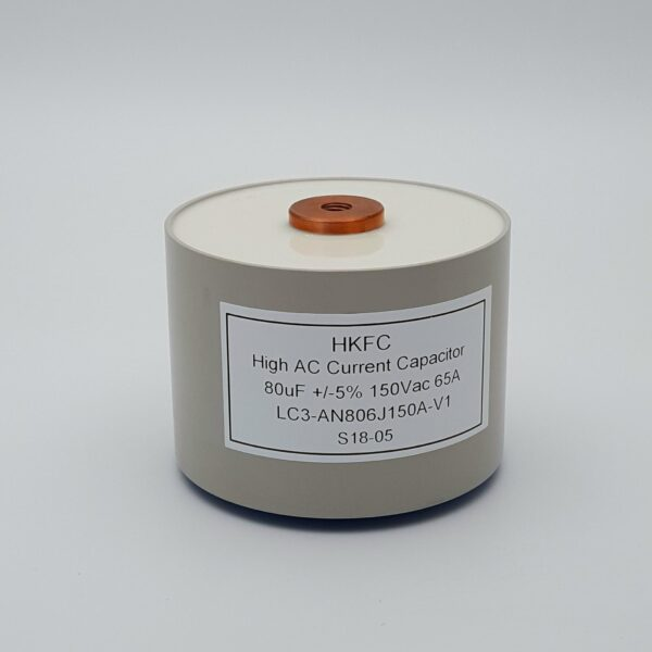 High Current Capacitor LC3-AN-80uF-150Vac-65A