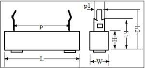 SQZ Ceramic Resistor drawing