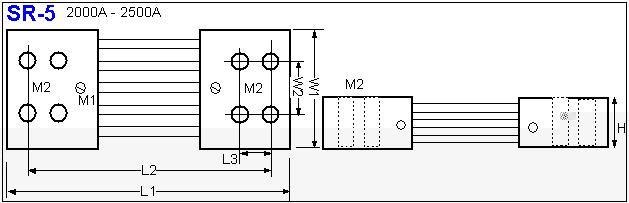 Shunt Resistor SR-5 drawing