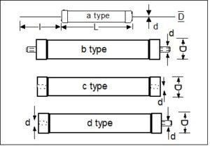 High Voltage Resistor drawing